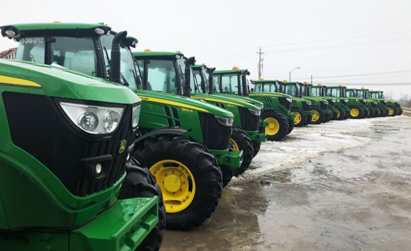 Hunt Club East Snow & Lawn's Snowplow Fleet