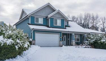 An Ottawa home has a clear laneway thanks to Hunt Club East Snow & Lawn